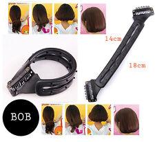 BOB Maker Topsy Tail Twister Haar Frisurenhilfe  schwarz Styling Dutt Haardreh