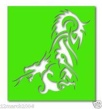 SD097 - Dragon Fire Stencils x 5 (suitable for glitter & ink tattoos)