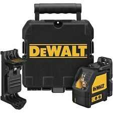 DEWALT DW087K Self Leveling 3-way Cross Beam, Multi Line Laser Level w/Case NEW