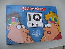 2003 BATTLE OF THE SEXES IQ TEST Board Game NEW  & FACTORY SEALED!