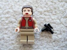LEGO Star Wars - Rare - Padme Amidala Senator w/ Weapon - From 9515 - Excellent
