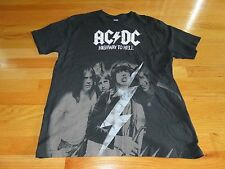 "2008 AC DC ""HIGHWAY TO HELL"" (LG) T-Shirt ANGUS YOUNG BON SCOTT"