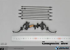 "ZYTOYS ZY16-5 1/6 Scale Compound Bow Set Model Arrow F/12"" Costume Action Figure"