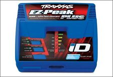 TRAXXAS 2970 EZ-PEAK PLUS 4AMP 5-8 CELL NIMH 2S-3S LIPO AC FAST CHARGER W/ ID