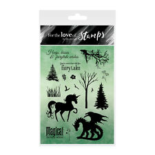 MAGICAL KINGDOM - For The Love of Stamps Clear Stamp Set - Hunkydory