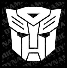 Large Transformers autobot logo symbol vinyl window decal sticker