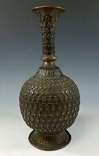 ANTIQUE 16th / 17th Century ASIA NORTH INDIA NEPAL BRONZE WINE VESSEL VASE