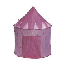 Pink Princess Castle Play Tent Play House for Kids Children Outdoor Indoor New