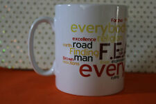 IAN BROWN THE FEAR  F.E.A.R THE STONE ROSES  Tea/Coffee Mug