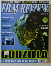 FILM REVIEW 8 - 1998 GODZILLA LOST IN SPACE SLING BLADE HARRISON FORD  FR 97