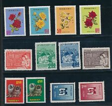 1969 China 22 ISSUES AS SHOWN & LISTED; MNH, MH & USED