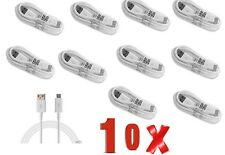 10 Pack USB 2.0A to Micro B Data Sync Charge Cable Lead for Samsung HTC LG Sony