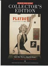 2014 Mint Print ad Poster Marilyn Monroe Playboy Collector's Edition