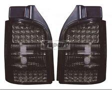 PAR AHUMADO LUCES TRASERAS LED NUEVO PARA VW TRANSPORTER T5 PUERTA 2004-2010