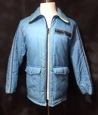VTG Good Year Official Racing Apparel Jacket Coat Mens M Winter Nylon GOODYEAR #