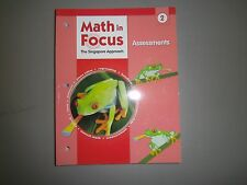 Math in Focus Grade 2 Assessments 2009. The Singapore Approach (Brand New)