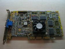 ASUS AGP-V3800 nVidia RIVA TNT2 AGP 16MB SDR VGA Graphics video card