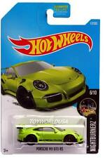 2017 Hot Wheels #117 Nightburnerz Porsche 911 GT3 RS
