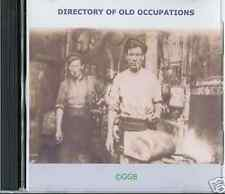 GENEALOGY DIRECTORY OF OLD OCCUPATIONS CD ROM