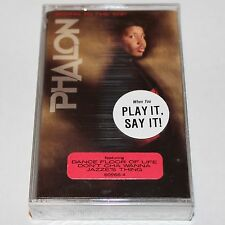 Phalon aka JAZZE PHA Rising To The Top Cassette Tape Hip Hop SEALED Promo