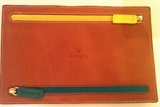 ORIGINAL ROLEX  PURSE LEATHER   CURRENCY WALLET  ORIGINAL PACKED  * RARE  ITEM *