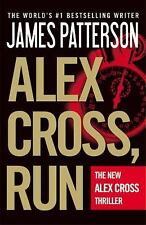 ALEX CROSS, RUN BY JAMES PATTERSON (2013) SC, VGC, GREAT THRILLER