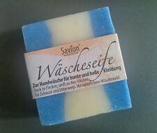 SAVION Wäscheseife Reise 80g Waschmittel für Handwäsche ökologisch 7,87 Eur/100g