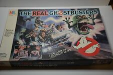 THE REAL GHOSTBUSTERS 3D BOARD GAME 1986 BY MILTON BRADLEY