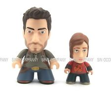 Kids Toy 2pcs The Last Of Us Titans Vinyl Figures Ellie & Uncharted Nathan Drake