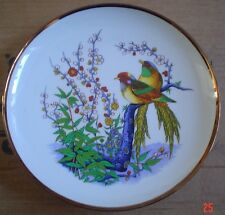 Oriental? Collectors Plate Birds Flowers