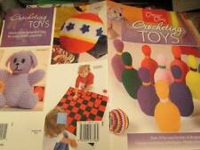 Company's Coming Crocheting Toys Book-Bowling/Book Covers/Stuffed Animals/Turtle