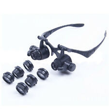 10X 15X 20X 25X Lens Jeweler Watch Repair Magnifying Glasses Magnifier Loupe S