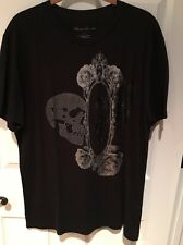 Kenneth Cole NY-Graphic (Mirror Image)T-Shirt Men's Size Large Black-NWT