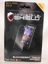 NEW - ZAGG InvisibleShield Screen Protector for BlackBerry Torch 9850/9860