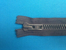 "ZIP CLOSED ENDED YKK NAVY 40CM 15.5"" 8 WEIGHT METAL SLIDER CHUNKY HEAVY DUTY"