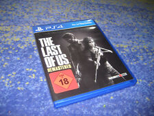 PS4 Spiel THE LAST OF US - REMASTERED in OVP neuw. kpl. deutsche Verkaufsversion