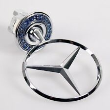 48MM MERCEDES BENZ BADGE W140 LOGO BONNET EMBLEM HOOD