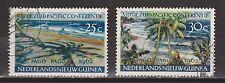 Indonesia Nederlands Nieuw Guinea New Guinea nr 76 - 77 used 1962 Pago Pago