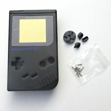 Carcasa de repuesto Gameboy Clasica DMG Nintendo Game Boy New negra black NUEVA