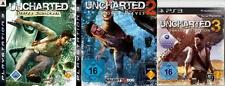Playstation 3 UNCHARTED 1 + 2 + 3 TRIPLE PACK COLLECTION Neuwertig