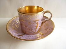 N°2 PORCELAINE DE PARIS TASSE LITRON A CAFE  OLD CUP COFFEE EPOQUE EMPIRE