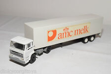 LION CAR DAF 1900 TRUCK WITH TRAILER AME MELK WHITE EXCELLENT CONDITION