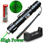 High Power 532nm Green Laser Pointer Pen Powerful 8000M Pointer +18650 + Charger