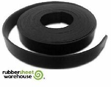 "Neoprene Rubber Sheet Strip Roll 1/4"" Thick x 1"" wide x 10' feet long  65A"