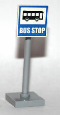 Lego CITY - BUS STOP SIGN minifigure from 60134 NEW PARTS