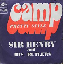 "Vinyle 45T Sir Henry and his Butler ""Camp"""