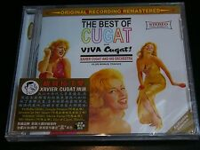 Xavier Cugat The Best of Cugat & Viva Cugat CD NEW