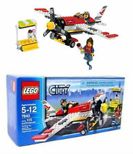 Lego City Air Show Plane 7643 - BRAND NEW IN BOX - 115 Pieces - Very Rare