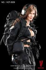 1/6 Scale Phicen, VeryCool Female Shooter Action Figure Box Set (Black Version)