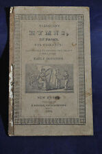1834 *RARE & FIRST* Barbaulds Hymns in Prose